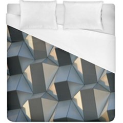 Pattern Texture Form Background Duvet Cover (king Size) by Pakrebo