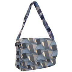 Pattern Texture Form Background Courier Bag