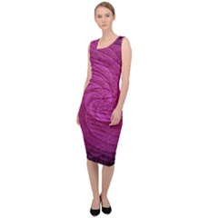 Background Scrapbooking Abstract Sleeveless Pencil Dress