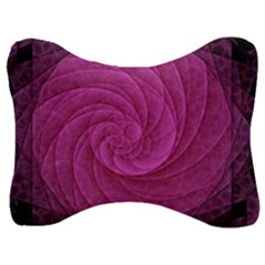 Background Scrapbooking Abstract Velour Seat Head Rest Cushion