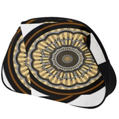 Mandala Pattern Round Ethnic Full Print Accessory Pouch (big)