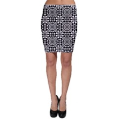 Fabric Design Pattern Color Bodycon Skirt