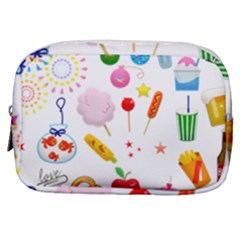 Summer Fair Food Goldfish Make Up Pouch (small)
