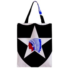 United States Army 2nd Infantry Division Shoulder Sleeve Insignia Classic Tote Bag