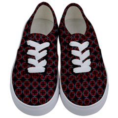 Pattern Design Artistic Decor Kids  Classic Low Top Sneakers