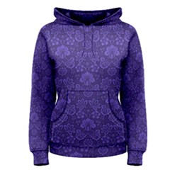 Wallpaper Seamless Damask Wall Women s Pullover Hoodie by Pakrebo