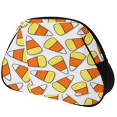 Candy Corn Halloween Candy Candies Full Print Accessory Pouch (big)