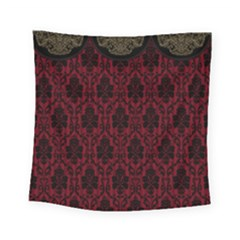 Scrapbook Background Curtain Swag Square Tapestry (small) by Pakrebo