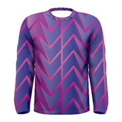 Geometric Background Abstract Men s Long Sleeve Tee by Alisyart