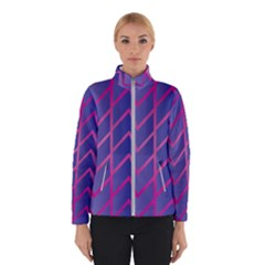 Geometric Background Abstract Winter Jacket