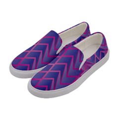 Geometric Background Abstract Women s Canvas Slip Ons by Alisyart