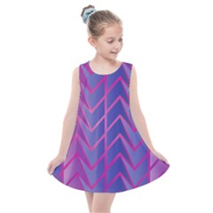 Geometric Background Abstract Kids  Summer Dress by Alisyart