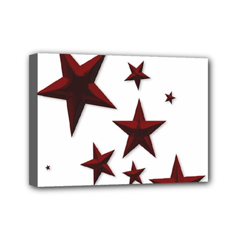 Free Stars Mini Canvas 7  X 5  (stretched)