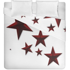 Free Stars Duvet Cover Double Side (king Size)