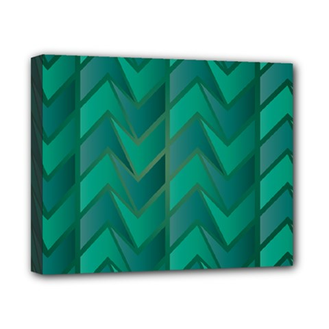 Geometric Background Canvas 10  X 8  (stretched)