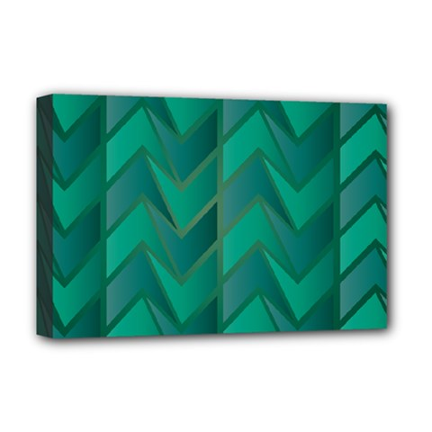 Geometric Background Deluxe Canvas 18  X 12  (stretched)