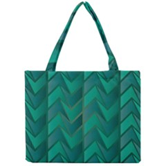 Geometric Background Mini Tote Bag by Alisyart