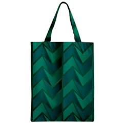 Geometric Background Zipper Classic Tote Bag by Alisyart