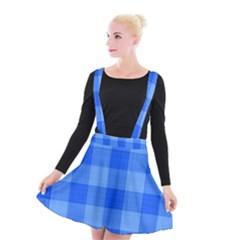 Fabric Grid Textile Deco Suspender Skater Skirt
