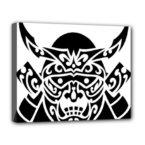Hannya Japanese Deluxe Canvas 20  X 16  (stretched)