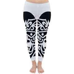 Hannya Japanese Classic Winter Leggings