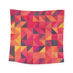 Halftone Geometric Square Tapestry (small)
