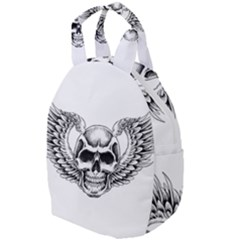 Human Skull Symbolism Travel Backpacks