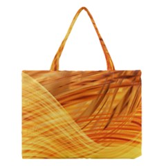 Wave Background Medium Tote Bag