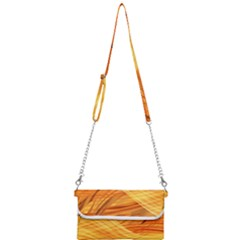 Wave Background Mini Crossbody Handbag by Alisyart