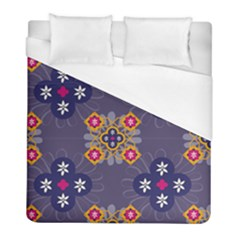 Morocco Tile Traditional Marrakech Duvet Cover (full/ Double Size)