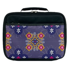 Morocco Tile Traditional Marrakech Lunch Bag by Alisyart