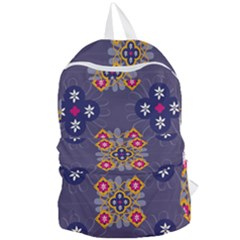 Morocco Tile Traditional Marrakech Foldable Lightweight Backpack
