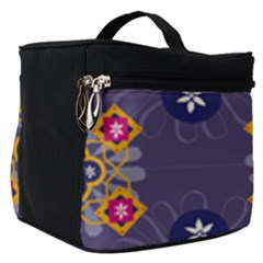 Morocco Tile Traditional Marrakech Make Up Travel Bag (small)