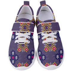 Morocco Tile Traditional Marrakech Women s Velcro Strap Shoes by Alisyart