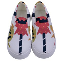 Lollipop Candy Kids  Canvas Slip Ons