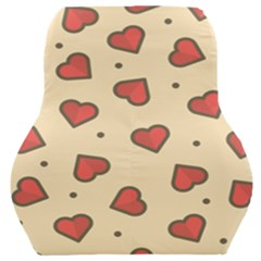 Love Heart Seamless Valentine Car Seat Back Cushion  by Alisyart