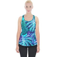 Leaves Tropical Palma Jungle Piece Up Tank Top