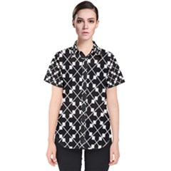 Abstract Background Arrow Women s Short Sleeve Shirt by AnjaniArt