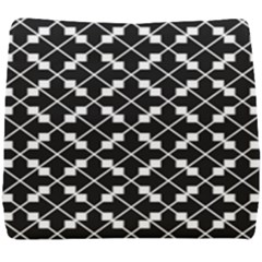 Abstract Background Arrow Seat Cushion