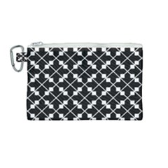 Abstract Background Arrow Canvas Cosmetic Bag (medium)