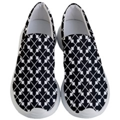 Abstract Background Arrow Women s Lightweight Slip Ons by AnjaniArt