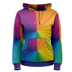 Abstract Pattern Lines Wave Women s Pullover Hoodie