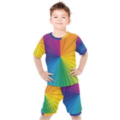 Abstract Pattern Lines Wave Kid s Set
