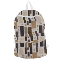 Background Wall Plaid Foldable Lightweight Backpack