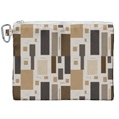 Background Wall Plaid Canvas Cosmetic Bag (xxl)