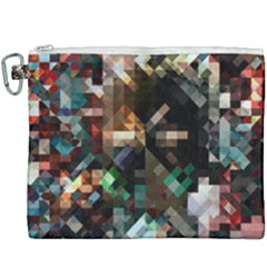 Abstract Texture Canvas Cosmetic Bag (xxxl)