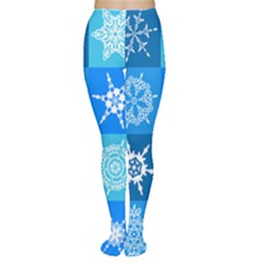 Background Blue Decoration Tights by AnjaniArt
