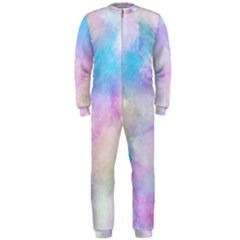Abstract Watercolor Onepiece Jumpsuit (men)