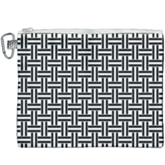 Braiding Vector Fabric Pattern Canvas Cosmetic Bag (xxxl) by AnjaniArt