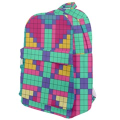 Checkerboard Squares Abstract Classic Backpack